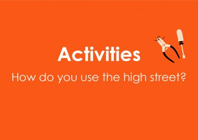The Power of Norwood High Street Activities